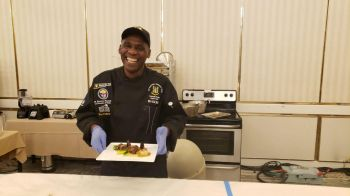 Caswall Ponte took Silver for the Virgin Islands in the Chef of the Year and Beef Competitions at Taste of the Caribbean 2019. Photo: Team of Reporters