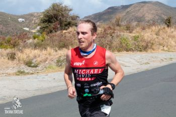 Avery Collins from Steamboat Springs, Colorado, set a new record in the 4th annual KPMG Tortola Torture on April 14, 2018. Photo: Tortola Torture