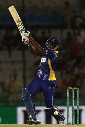 The Tridents having qualified for the Tournament courtesy of winning the Caribbean Premier League batted first and scored an impressive 174 for 6, led by Raymon Reiffer's 60. Photo: Provided