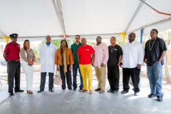 Some of the presenters and supporters of Tortola Race Wars (TRW). Photo: Provided
