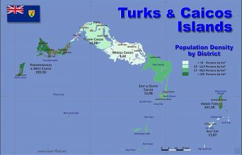Map of the Turks and Caicos. Photo: Provided