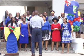 The week's activities kicked off with praise and worship which included remarks from leaders showing public service appreciation for years of dedicated services in the various sectors. Photo: Team of Reporters