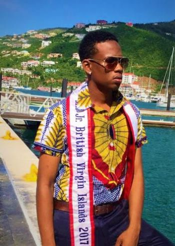 Yohance T. Smith is the reigning Mr Junior BVI 2017/18. Photo: Provided