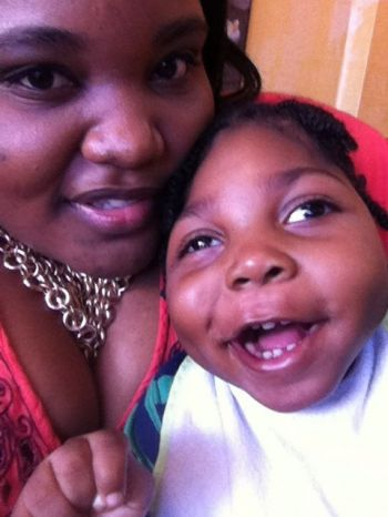 """This is a fight. Children with special needs need an advocate and if it has to start with me through my son I accept. I would give anything to be at home but my home is not in a position to help me care for my son,"" said mother Lashauna Smith. Photo: Provided"
