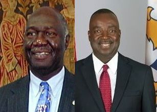 Former US Virgin Islands (USVI) Governor Mr Charles W. Turnbull Phd, left, and Lieutenant Governor of the USVI Mr Osbert E. Potter, right, have strong roots in the Virgin Islands (VI). Photo: Internet Source