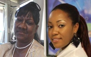 Two daughters of Virgin Gorda were removed from their post as Private Secretary to the Minister for Education and Culture. Ms Karen Vanterpool (left, Photo: facebook) was sacked last year at the request of Minister Myron V. Walwyn and Daniella Flax was also removed from the post a few weeks ago. Photo: VINO/File