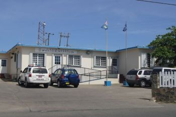Quick response by ranks of the Virgin Gorda Police Station resulted in the apprehension of 4 persons who allegedly committed an armed robbery on a woman on Lee Road last night, October 15, 2020. Photo: VINO/File