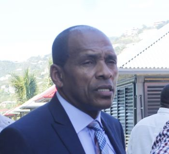 Minister for Communications and Works Honourable Mark H. Vanterpool (R4) said that while he still had to get confirmation, he strongly believed that the outage of the traffic lights had to do with a power outage in Road Town. Photo: VINO