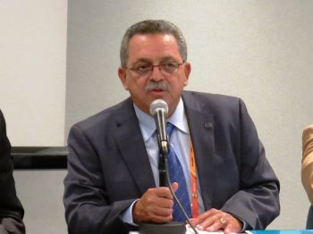 NACAC President Victor Lopez said the interest is building and the games could surpass expectations. 'There are charter flights from the Bahamas, Jamaica and Trinidad and Tobago and no less than 20 coaches from colleges in the United States. The impact to the economy will be high.' Photo: Provided