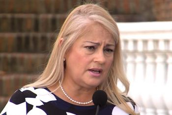 Puerto Rico Governor Wanda Vázquez Garced has called an urgent meeting to discuss security measures on the island. Photo: WWAY