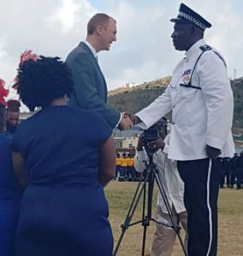 Several Police Officers were honored on Saturday, June 9, 2018, during the birthday celebrations for Queen Elizabeth II in the VI—as has been tradition over the years—in addition to former Deputy Governor, Rosalie Adams, being announced as a recipient of the OBE (Order of British Empire). Photo: Team of Reporters