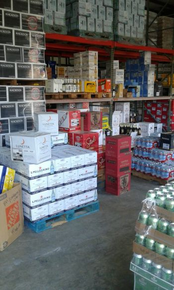 The business is the distributor of a number of alcoholic and non-alcoholic beverages. Photo: Team of Reporters