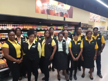 Managing Director Mr Strickland noted that with the reopening of the Fleming Street store it would provide about 30 jobs with Rite Way already employing some 405 persons. Photo: VINO