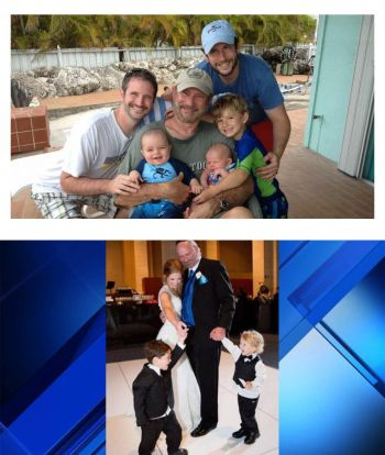 Dr. Hogan in happier times with family. Photo: Local 10 News