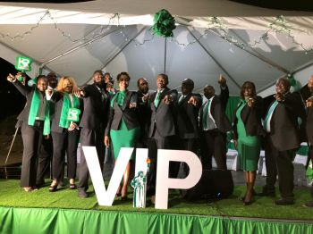 """According to Hon Fahie, """"The Virgin Islands Party has 13 [candidates] to start so what we will do is forfeit all those who don't have 13 from winning the next General Elections."""" Photo: Team of Reporters"""