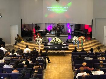 The funeral service was held at the Cane Garden Bay Baptist Church and the interment was at the Sailors Burial Ground, West End. Photo: Team of Reporters