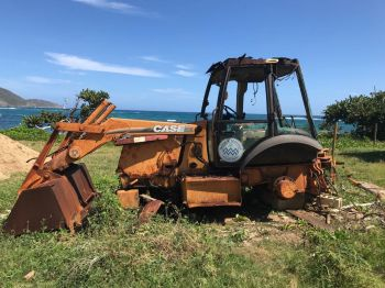The Department is required to spend thousands of dollars on backhoe services. Photo: VINO