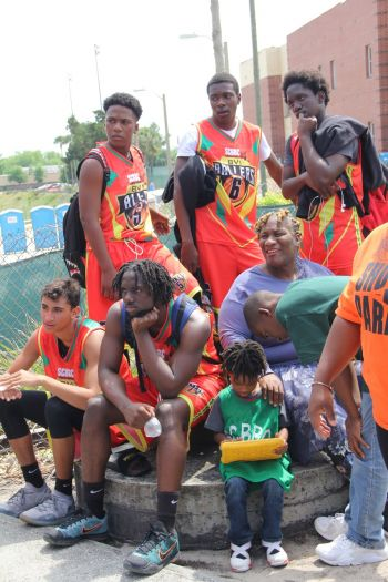 BVI Ballers team in Orlando, Florida. Photo: Provided