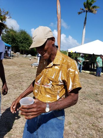 """The festival this year will honour Mr Roy L. O'Neal who was described as a very quiet humble man. However, told Virgin Islands News Online (VINO) that when he got word that he is the honouree he has to put aside the humbleness and """"come out of his shell"""". Photo: VINO"""