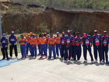 Eight VI cricket clubs entered the tournament, including Vincy, Royal Knights, RTW, Grenada, Cavaliers, Vikings, Police and Virgin Gorda Spartans. Photo: VINO