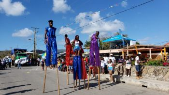 Scenes from the Virgin Gorda Easter Parade 2019. Photo: VINO