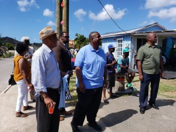 Several of the territory's legislators including Premier and Minister of Finance, Hon Andrew A. Fahie (R1) and other government officials were on scene for the festivities. Photo: VINO