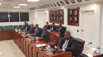 The Government of Premier and Minister of Finance, Hon Andrew A. Fahie (R1) has around 8:30 PM tonight, Friday, April 26, 2019, passed the Territory's 2019 Budget which is called the 'Appropriation Act.' Photo: Team of Reporters