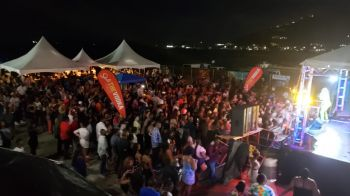 The first annual Soca Wee Event of Raw Promotion was nothing less of a hit seeing the fenced section in the Cyril B. Romney Tortola Pier Park packed to capacity. Photo: VINO