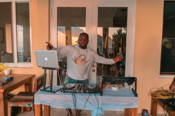 He said although DJing has a very important role in the local tourism industry and nightlife in the Virgin Islands, as tourists need the entertainment. Photo: Provided