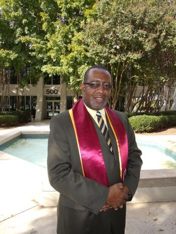 Operations manager at Davis Funeral Home Pastor Robert 'Storm' Wright. Photo: Provided