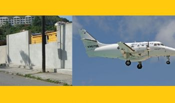 Residents have blasted the National Democratic Party (NDP) Administration for spending some $7 million to bail out a bankrupt BVI Airways and wasting $1Million on a small wall around the Elmore Stoutt High School. Photo: VINO/File