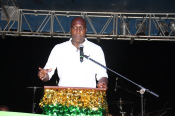 Minister for Education and Culture Hon Myron V. Walwyn said it was the first time he was hearing that there were plans to cut out the East End Festival. Photo: VINO
