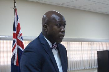Education Minister Hon Myron V. Walwyn was reportedly causing teachers discomfort at the Bregado Flax Educational Centre due to his alleged micro-management style. Photo: VINO/File