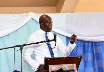 Honourable Myron V. Walwyn (AL)—the Co-Leader of the ruling National Democratic Party (NDP) and Government—threatened currently elected Members of the NDP to say, if they are running with him by August 12, 2018 or else. Photo: Facebook