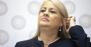 Governor Wanda Vázquez Garced fired the heads of Puerto Rico's housing and family departments Sunday, January 19, 2020 in the latest fallout over the discovery of a warehouse filled with emergency supplies dating from Hurricane Maria. Photo: CBS News
