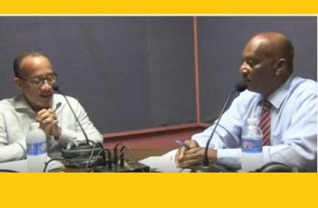 Sister Islands Coordinator and Virgin Gorda resident Mr Vincent O. Wheatley, right was a guest on the Honestly Speaking show, that was guest-host by Mr Gerard St C. Farara and aired Tuesday 23, 2018 on ZBVI 780 AM. Photo: Facebook