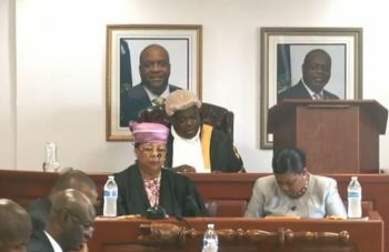 """""""The House proceeded today and the Speaker refused to swear me in. In addition, my attorneys filed for judicial review on the whole matter and considering the urgency, the High Court granted a hearing date for Wednesday 10th April 2019,"""" Mr Vanterpool said. Photo: Facebook"""