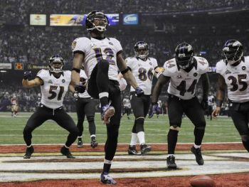 The Baltimore Ravens staved off the San Francisco 49ers rally to win Super Bowl XLVII on February 3, 2013. Photo: Robert Deutsch/ USA TODAY Sports