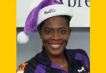 She started working at FedEx in early 2015 and later that year she was promoted to the position of Senior Service Agent with the courier company. Varlack is also the Public Relations Officer of the BVI Motor Sports Association. Photo: Provided